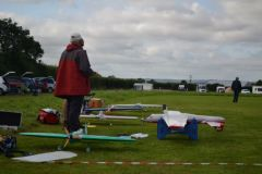 More of the flight line
