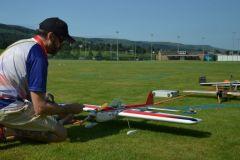 Steve White prepares his Classic