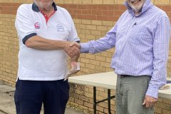 Steve Smith receives 2nd prize