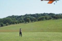 Chris flying