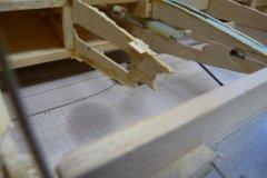 Rib needing trailing edge repair