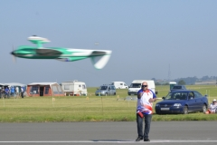 Mark Williams flying his Shark model inverted