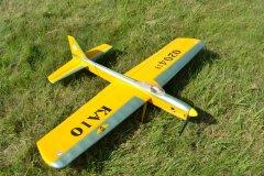 KA10 control line stunt model