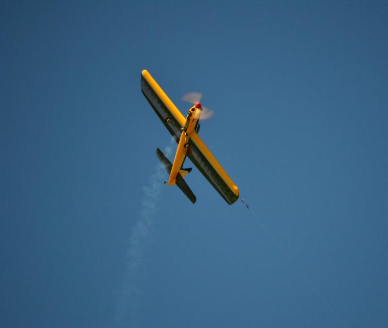 Peter Dean's KA10 in flight